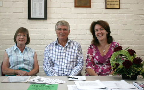 Speakers at All Angels Wi's July meeting