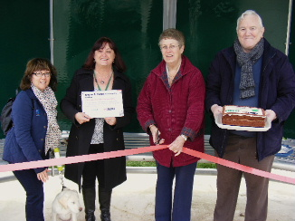 Community shelter opening, 10th March 2014