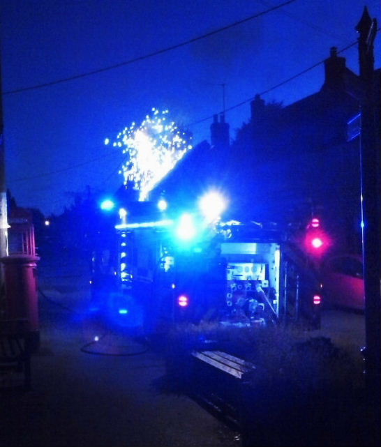 Electrical fire 14th July 2014