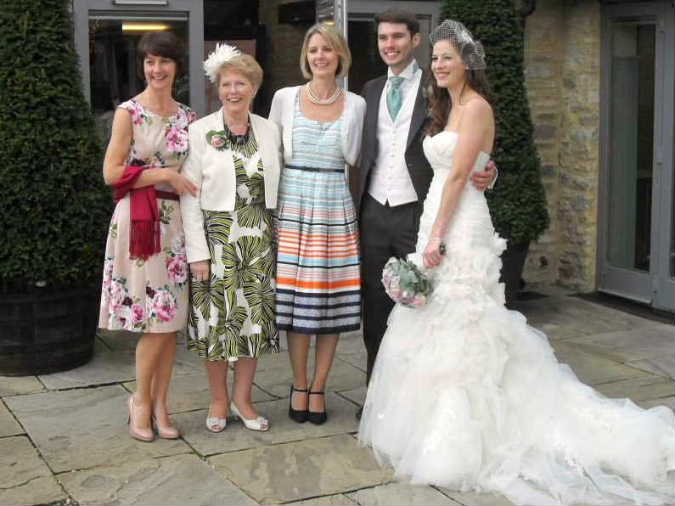 Karen, Avril, Louise, Matthew & Emma Balmforth, 14th Septmber 2013