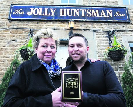 Jolly Huntsman named Gazette & Herald