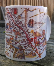Kington St Michael mug