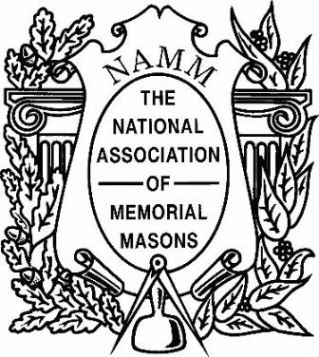 National Association of Memorial Masons logo