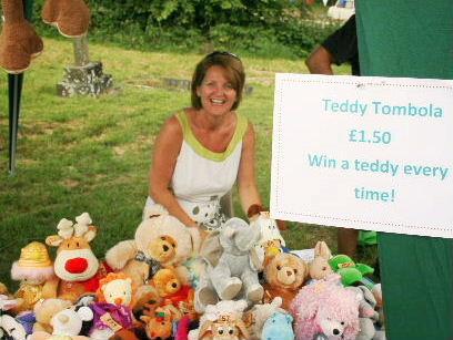 Extravaganza teddy tombola 20.07.14