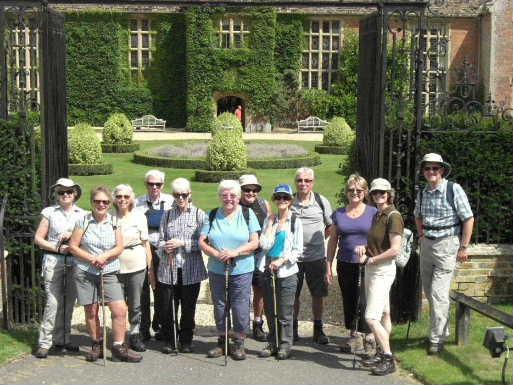 WI walk at Littlecote Manor, July 2014